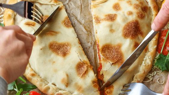 Low Carb Pizzataschen