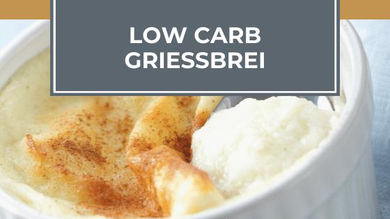 Low Carb Grießbrei